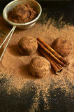 Chocolate truffles. Royalty Free Stock Image
