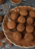 Chocolate truffles Royalty Free Stock Image