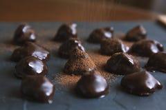 Chocolate Truffles Royalty Free Stock Image