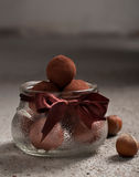 Chocolate truffles Royalty Free Stock Images