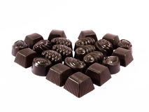Chocolate valentine 3 Royalty Free Stock Image