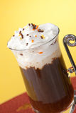 Chocolate Vanilla Coffee Royalty Free Stock Photography