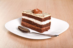 Chocolate cake Royalty Free Stock Images