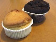 chocolate-and-vanilla-muffins Royalty Free Stock Photo
