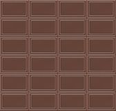Chocolate vector. Background. Seamless pattern Stock Photography