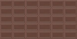Chocolate vector. Background. Seamless pattern Stock Images