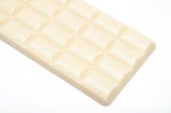 Chocolate ventilado branco imagem de stock