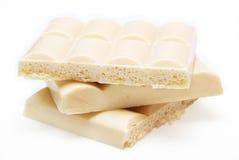 Chocolate ventilado branco Fotografia de Stock