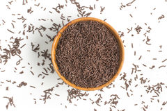 Chocolate Vermicelli. Chocolate Sprinkles Royalty Free Stock Images