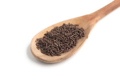 Chocolate Vermicelli. Chocolate Sprinkles Stock Photography