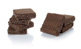 Chocolate wafer Stock Photos