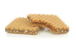 Chocolate wafer biscuits Royalty Free Stock Photo