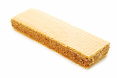 Chocolate wafer Stock Photo