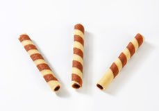Chocolate Wafer Sticks Royalty Free Stock Photo