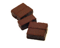 Chocolate wafers Royalty Free Stock Image