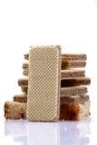 Chocolate wafers Stock Photos