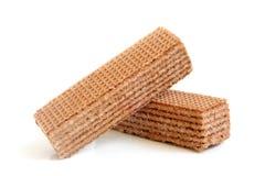 Chocolate wafers Stock Photo