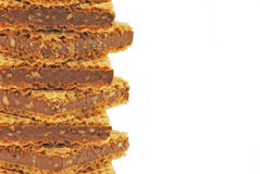 Chocolate wafers Stock Photo