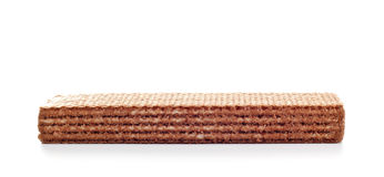 Chocolate waffle Stock Images