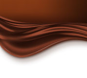 Chocolate wave Stock Photo