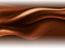 Chocolate wave Stock Photography