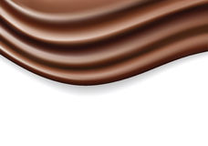 Chocolate wave Royalty Free Stock Photo