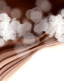 Chocolate waves Royalty Free Stock Image