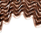 Chocolate waves Royalty Free Stock Photos