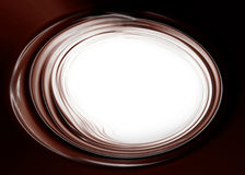Chocolate waves Royalty Free Stock Images