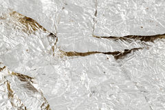 Chocolate Wrappers silver Royalty Free Stock Image