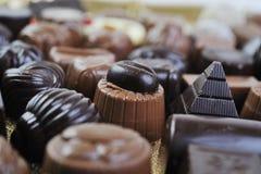 Chocolate y almendra garapiñada Imagen de archivo libre de regalías
