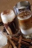 Chocolate y café Foto de archivo libre de regalías