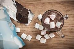 Chocolate y melcochas Imagen de archivo