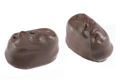 chocolate5 που απομονώνεται Στοκ Εικόνες