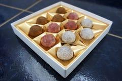 Chocolateballs Photos libres de droits
