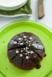 Chocolatecake stockfotos