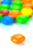 Chocolated Coated Candy Royalty Free Stock Image