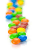 Chocolated Coated Candy Stock Images