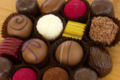 Chocolated sweets Royalty Free Stock Photo