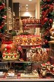 Chocolaterie in Brügge, Belgien Stockfotografie