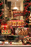 Chocolaterie a Bruges, Belgio Fotografia Stock