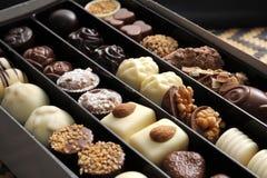 Chocolates Fotografía de archivo libre de regalías