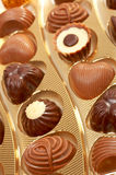 Chocolates Stock Images
