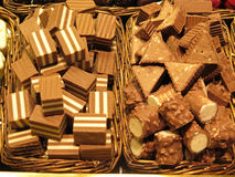 chocolates Foto de archivo libre de regalías