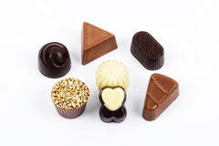 chocolates Foto de Stock Royalty Free