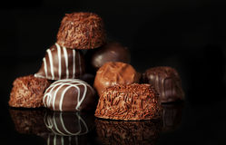 Free Chocolates Royalty Free Stock Image - 49721566