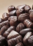 Chocolates imagem de stock royalty free