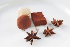 chocolates Imagem de Stock Royalty Free
