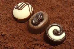 Free Chocolates Royalty Free Stock Photography - 9102787