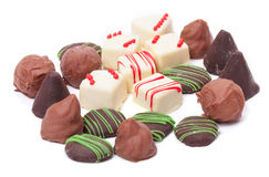 Chocolates Assortment, Confection Stock Image